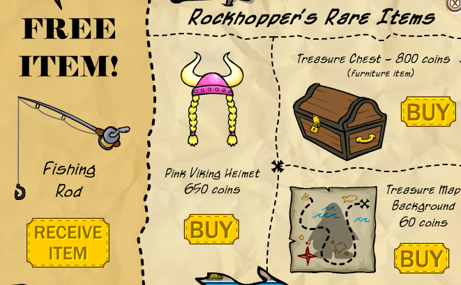 rockhopper's catalog