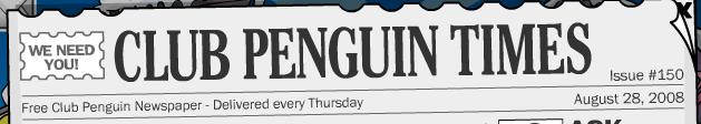 Penguin Times and mini igloo contest