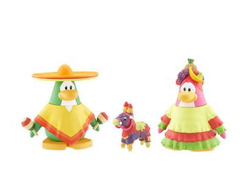 sombrero and fiesta toys