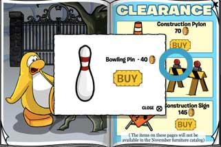 hidden bowling pin