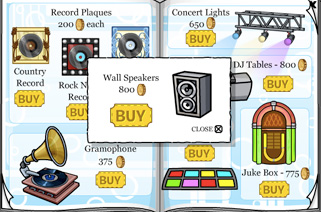 club penguin wall speakers